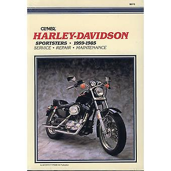 Harley Sportster - 1959-85 (2nd Revised edition) by Alan Harold Ahlst