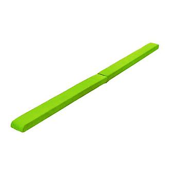 Fun!ture® Lime 7ft Long Faux Suede Folding Gymnastics Balance Beam