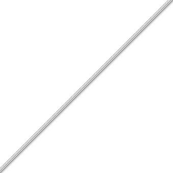 Jewelco London Sterling Silver 1.4mm Gauge Snake Chain Snake Chain