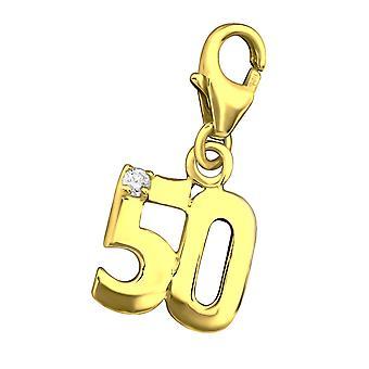 «50» - 925 Sterling Silver Charms avec homard - W29306X