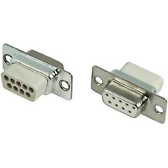 D-SUB receptacles 180 ° Number of pins: 15 Crimp MH Connectors MHDBC15SS-NW 1 pc(s)