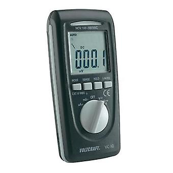 Handheld multimeter digital VOLTCRAFT VC-10 Calibrated to ISO standards