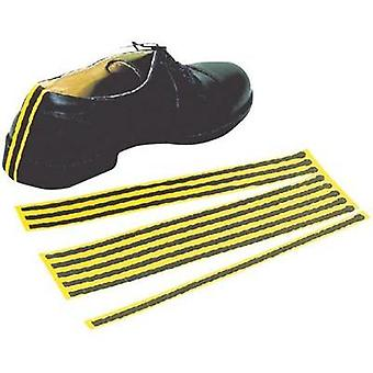 ESD disposable shoe strap 10 pc(s) Yellow, Black BJZ C-199 2151