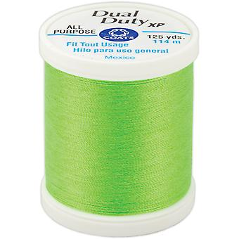 Dual Duty XP General Purpose Thread 125 Yards-Neon Green