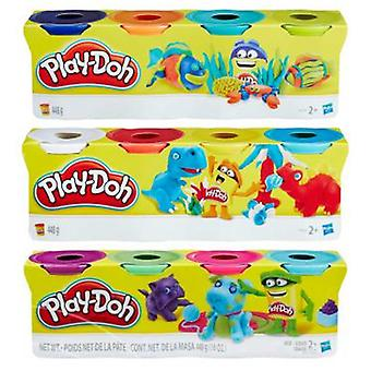 Play Doh Plastilina Playdoh Pack 4 Pots