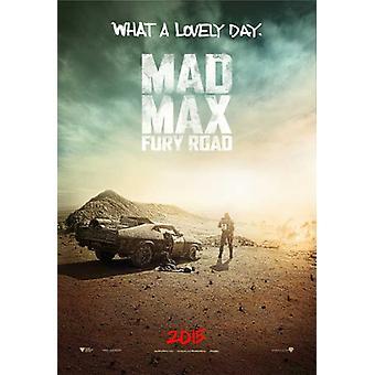 狂牛病の最大の怒り道路映画ポスター (11 x 17)