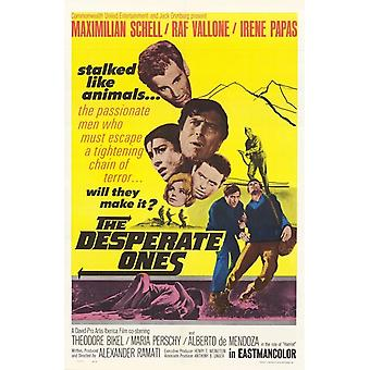 The Desperate Ones Movie Poster (11 x 17)