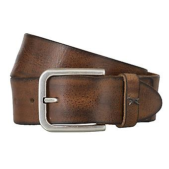 BRAX belts men's belts leather belt Cognac 4681