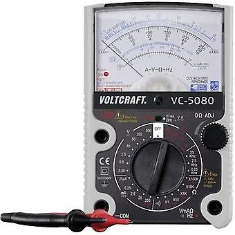 Handheld multimeter analogue VOLTCRAFT VC-5080 Calibrated to: Manufacturer's standards (no certificate) CAT III 500 V