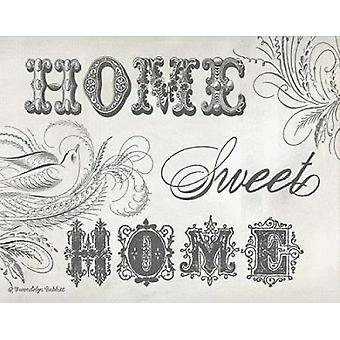 Home Sweet Home IV Poster Print by Gwendolyn Babbitt