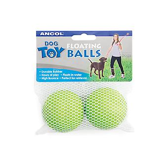 Floating Balls Assorted 6cm (Pack of 6)