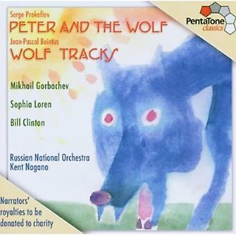 Prokofiev/Beintus - Serge Prokofiev: Pedro y el lobo; Jean-Pascal Beintus: Importación Wolf Tracks [SACD] Estados Unidos