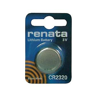 Renata CR2320 3V Lithium Coin Cell Battery - Pack of 10
