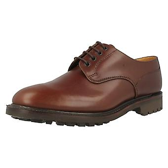 Mens Loake Waxy Leather Shoes Epsom