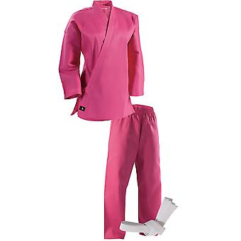Century 6 oz. Lightweight Student Uniform with Elastic Pants - Pink