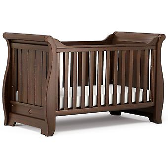 Boori Sleigh Cot Bed - English Oak