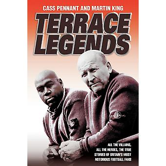 Terrace Legends (Paperback) by Pennant Cass King Martin