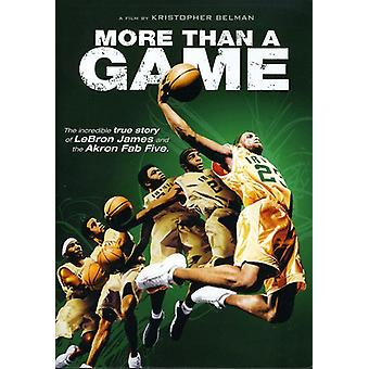 More Than a Game [DVD] USA import