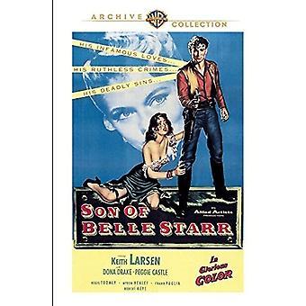 Søn af Belle Starr [DVD] USA import