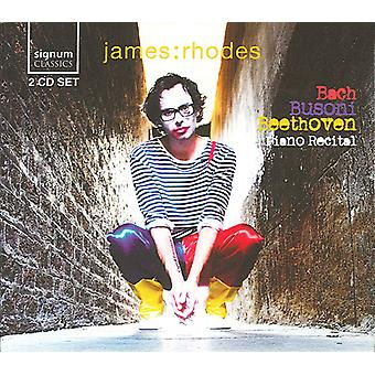 James Rhodes - Piano Recital: Bach, Busoni, Beethoven [CD] USA import