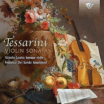 Tessarini/Losito/Del Sordo - Violin Sonatas [CD] USA import