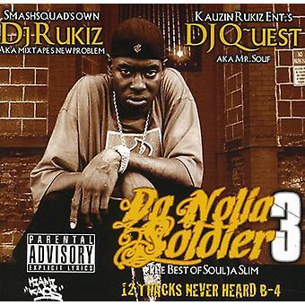Soulja Slim - Da Nolia soldat 3 [CD] USA import