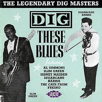 Dig These Blues - Dig These Blues [CD] USA import