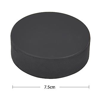 TRIXES Galvanised Rubber Ice Hockey Puck Regulation Standard