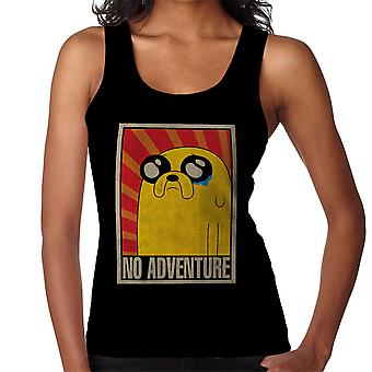 Adventure Time No Adventure Soviet Women's Vest