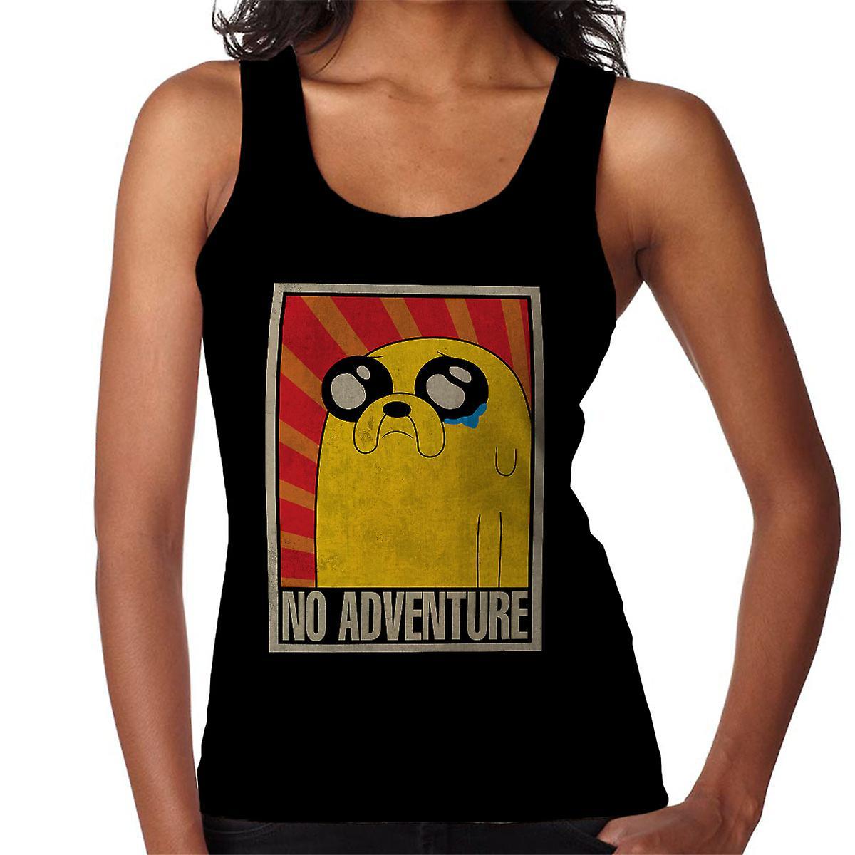 Adventure Time No Adventure Soviet Women's Vest