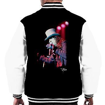 Alice Cooper Top Hat Performing Men's Varsity Jacket