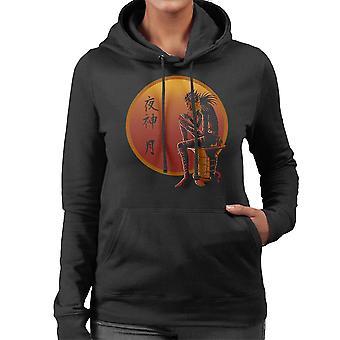 Ryuk auf Sonnenuntergang Death Note Damen Sweatshirt mit Kapuze