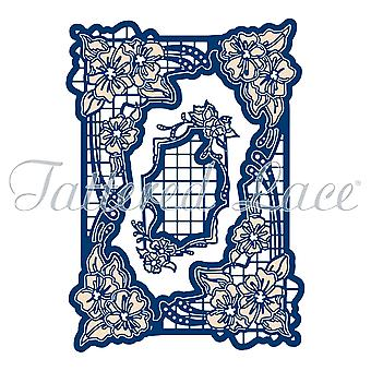 Tattered Lace Woodside Bloom Rectangle Die