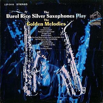 Rice, Darol / Silver Saxophones - Play the Golden Melodies [CD] USA import
