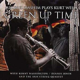 Michael Hashim - grøn op tid-musik af Kurt vi [CD] USA import