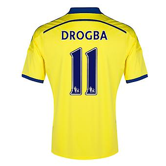 2014-15 Chelsea Away Shirt (Drogba 11) - Kids