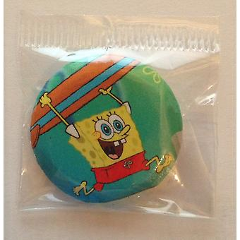 9 x Pin Badge | Individuelt indpakket Badges | SPONGEBOB SQUAREPANTS | Ideel Party taske Badges