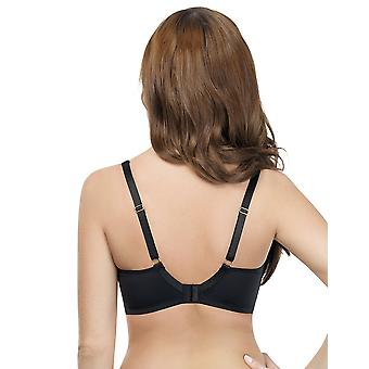 Parfait Ellie Black and Nude Non Padded Underwired Bra P5082