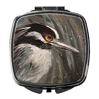 Carolines Treasures  JMK1219SCM Night Heron Compact Mirror