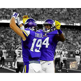 Adam Thielen & Stefon Diggs 2015 Spotlight azione Photo Print