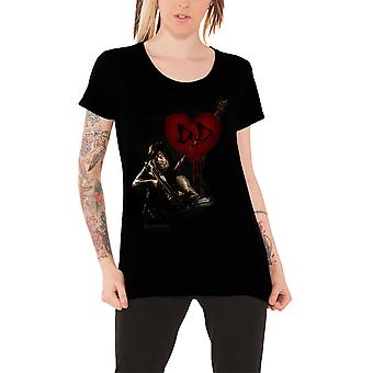 The Walking Dead T Shirt Daryl Dixon Love Official Womens New Skinny Fit