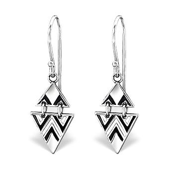Bali - 925 Sterling Silver Plain Earrings