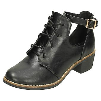 Ladies Anne Michelle Ankle Straped Boots