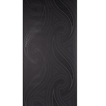 Blendworth Black Wallpaper Roll - Anthologie YoYo gemusterte Design - BL-1001