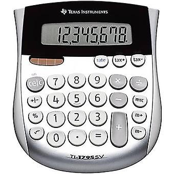 Pocket calculator Texas Instruments TI-1795 SV Silver Display (d