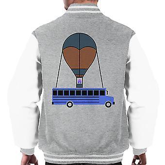 Party Bus Fortnite Men's Varsity Jacket