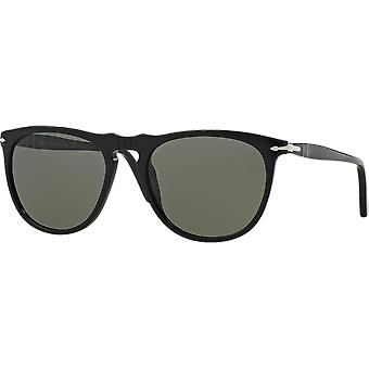 Persol 3114S Black polarisert Green