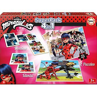 Educa Superpack Prodigiosa: The Adventures of Ladybug