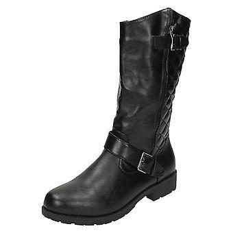 Damer plats på Biker Boots F50311