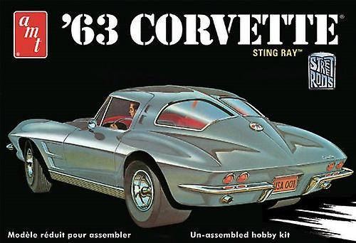 AMT 1963 Chevrolet Corvette modèle voiture l'échelle 01 25
